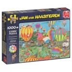 Jumbo-19052 Jan van Haasteren - Le Festival de Mongolfières