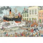 Jumbo-19055 Jan Van Haasteren - Arrivée au Port de Saint Nicolas