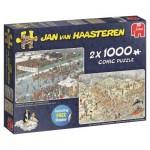 Jumbo-19081 Jan van Haasteren - Eleven City Icetour & New Year's Dip