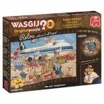 Jumbo-19153 Wasgij Original Retro 2 - Les Vacances, Quel Plaisir !