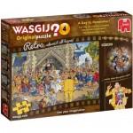 Jumbo-19176 Wasgij Retro Original 4 - Une Journée Inoubliable