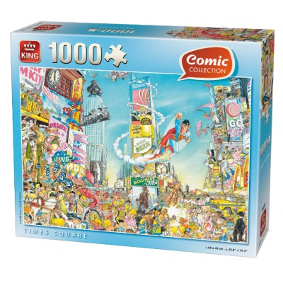 King-Puzzle-05089 Comic Collection - Times Square