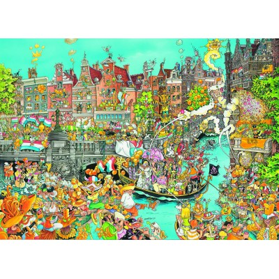 King-Puzzle-05132 Comic Collection - Amsterdam Queen's Day