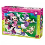 King-Puzzle-05147-B Minnie Mouse Bow-tique