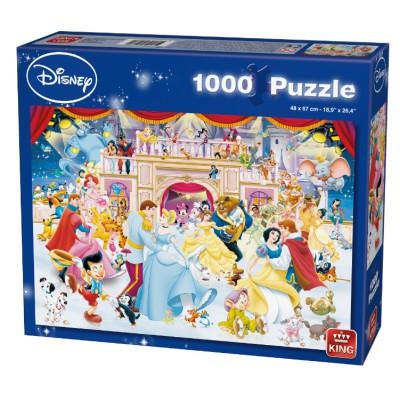 King-Puzzle-05180 Disney Holiday on Ice