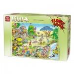 King-Puzzle-05223 Robert Crisp - Golf Safari