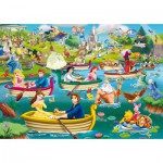 King-Puzzle-05260 Disney, Fun on The Water