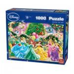 King-Puzzle-05261 Disney Princesses - Feux d'Artifice