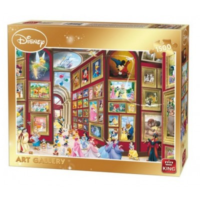 King-Puzzle-05263 Disney - Art Gallery