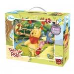 King-Puzzle-05274 Puzzle Géant de Sol - Winnie l'Ourson