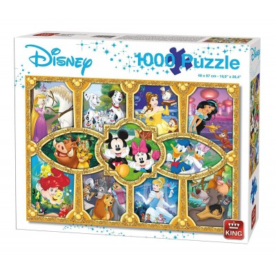 King-Puzzle-05279 Disney Magical Moments