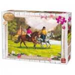 King-Puzzle-05296 Girls & Horses
