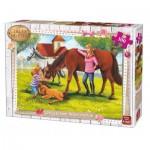 King-Puzzle-05297 Girls & Horses
