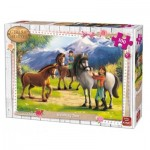 King-Puzzle-05298 Girls & Horses