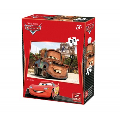 King-Puzzle-05301-H Cars 3