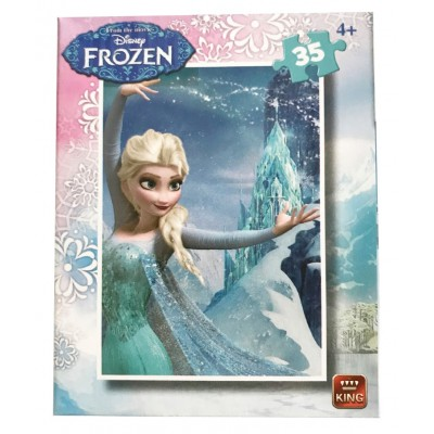 King-Puzzle-05304-A Disney - La Reine des Neiges