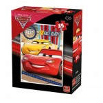King-Puzzle-05309-D Cars 3