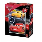King-Puzzle-05309-F Cars 3