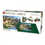 King-Puzzle-05340 Roll & Go - Semur-en-Auxois, France
