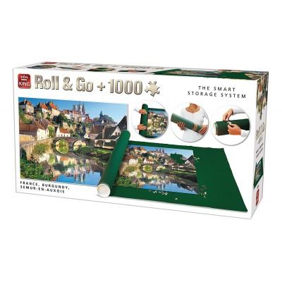 King-Puzzle-05340 Roll & Go - Semur-en-Auxois, France