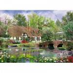 King-Puzzle-05358 Cottage au Printemps