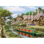 King-Puzzle-05364 Cottage sur le Canal