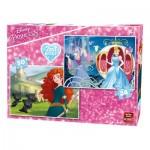 King-Puzzle-05416 2 Puzzles - Disney Princess