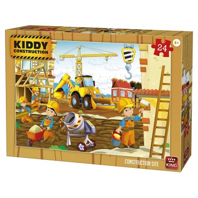King-Puzzle-05459 Kiddy Construction