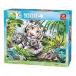 King-Puzzle-05486 Tigres de Sibérie