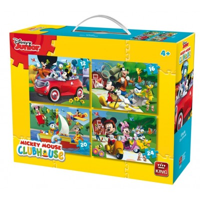 King-Puzzle-05505 4 Puzzles - Disney Junior