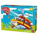 King-Puzzle-05519 Hélicoptère de Secour