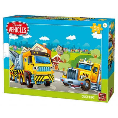 King-Puzzle-05522 Cargo Cars