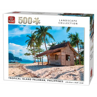 King-Puzzle-05535 Tropical Island