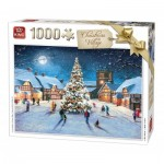 King-Puzzle-05610 Christmas Village