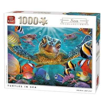 King-Puzzle-05617 Tortues