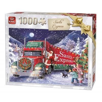 King-Puzzle-05618 Santa Express Christmas