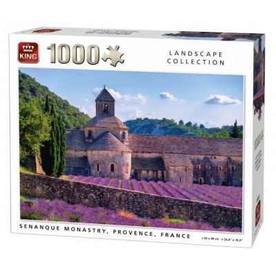 King-Puzzle-05663 Notre-Dame de Sénanque, Provence, France