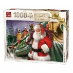 King-Puzzle-05684 Christmas Santa Train
