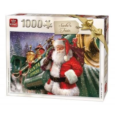 King-Puzzle-05684 Christmas Santa Train
