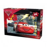 King-Puzzle-05696-B Cars 3