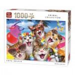 King-Puzzle-05702 Cats Selfie
