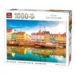 King-Puzzle-05704 Nyhavn, Copenhague, Danemark