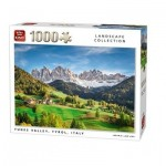 King-Puzzle-05708 Funes Valley, Tyrol, Italie