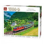 King-Puzzle-05716 Intercity Train