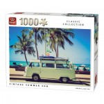 King-Puzzle-05719 Vintage Summer Van