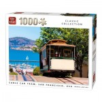 King-Puzzle-05720 Cable Cart Tram