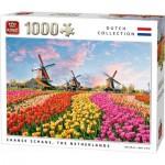 King-Puzzle-05722 Zaanse Schans The Nederlands