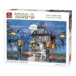 King-Puzzle-05723 Halloween Haunted House