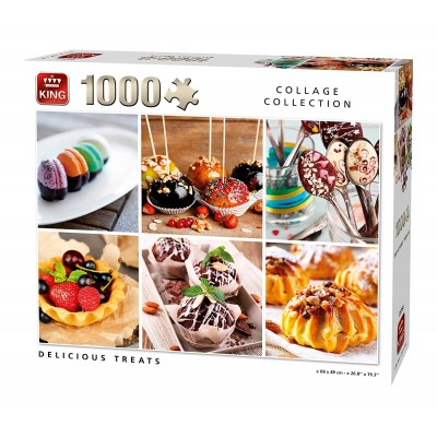 King-Puzzle-05766 Collage - Delicious Treats