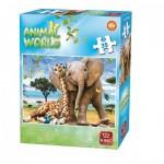 King-Puzzle-05774-D Animal World